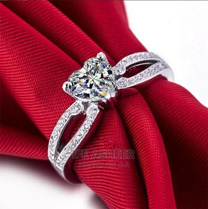 Royalty Ladies Silver Proposal/Engagement Ring - Silver   Wedding Wear & Accessories for sale in Lagos State, Ojodu