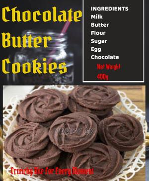 Chocolate Butter Cookies   Meals & Drinks for sale in Lagos State, Ikeja