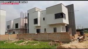 A 4 Bedroom Fully Detached Duplex With Maid Room | Houses & Apartments For Sale for sale in Ojodu, Isheri North