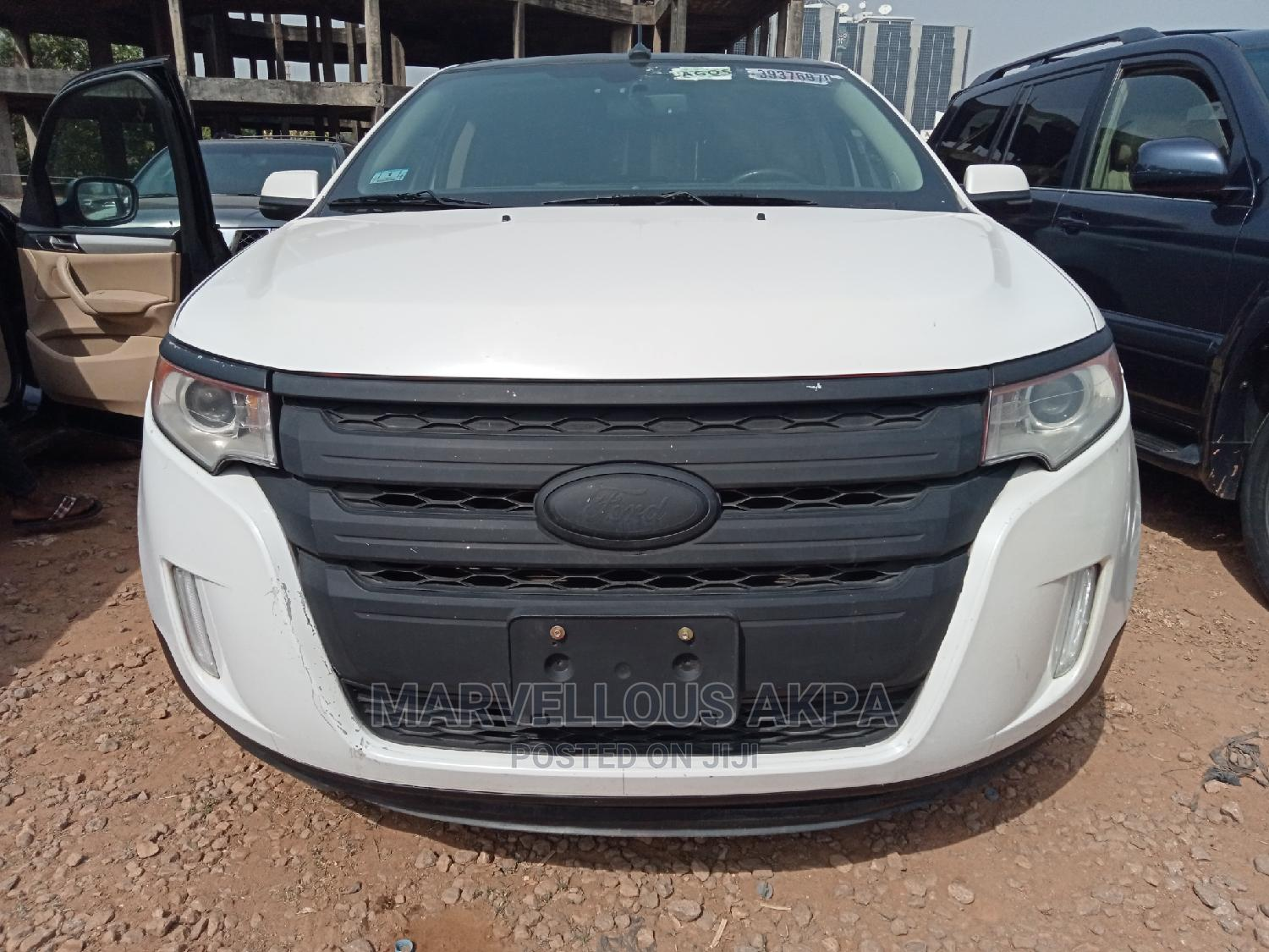 Ford Edge 2012 White | Cars for sale in Central Business District, Abuja (FCT) State, Nigeria