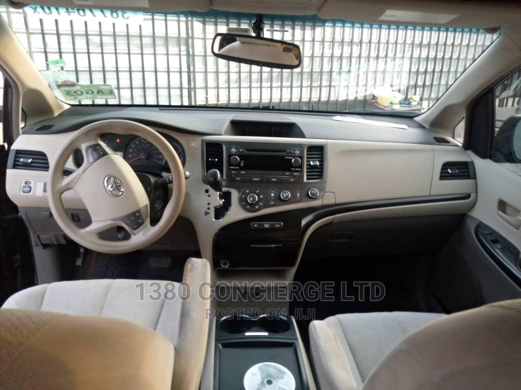 Toyota Sienna 2011 LE 7 Passenger Mobility Black   Cars for sale in Ajah, Lagos State, Nigeria