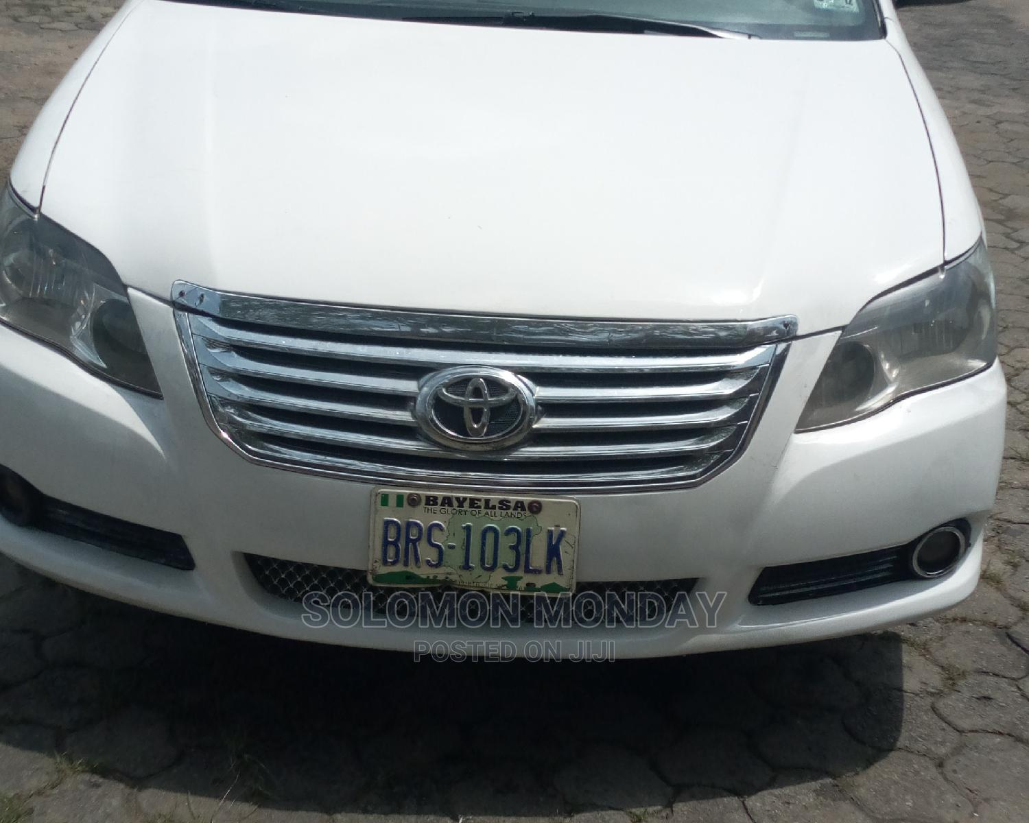Toyota Avalon 2005 Limited White | Cars for sale in Ikwerre, Rivers State, Nigeria
