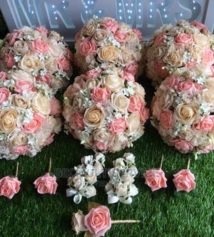 Bridal Wedding Flowers Bouquets Roseballs | Wedding Wear & Accessories for sale in Lagos State, Ajah