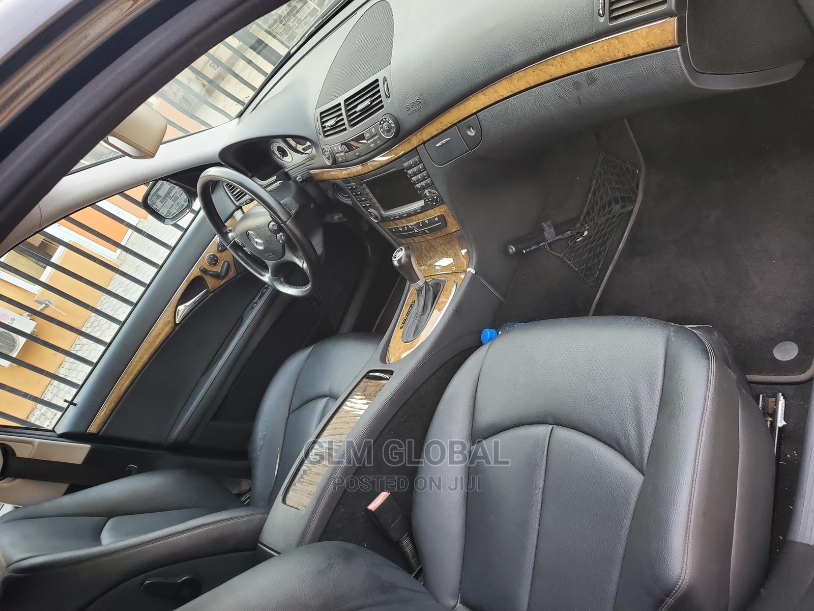 Mercedes-Benz E350 2008 Black | Cars for sale in Ogudu, Lagos State, Nigeria