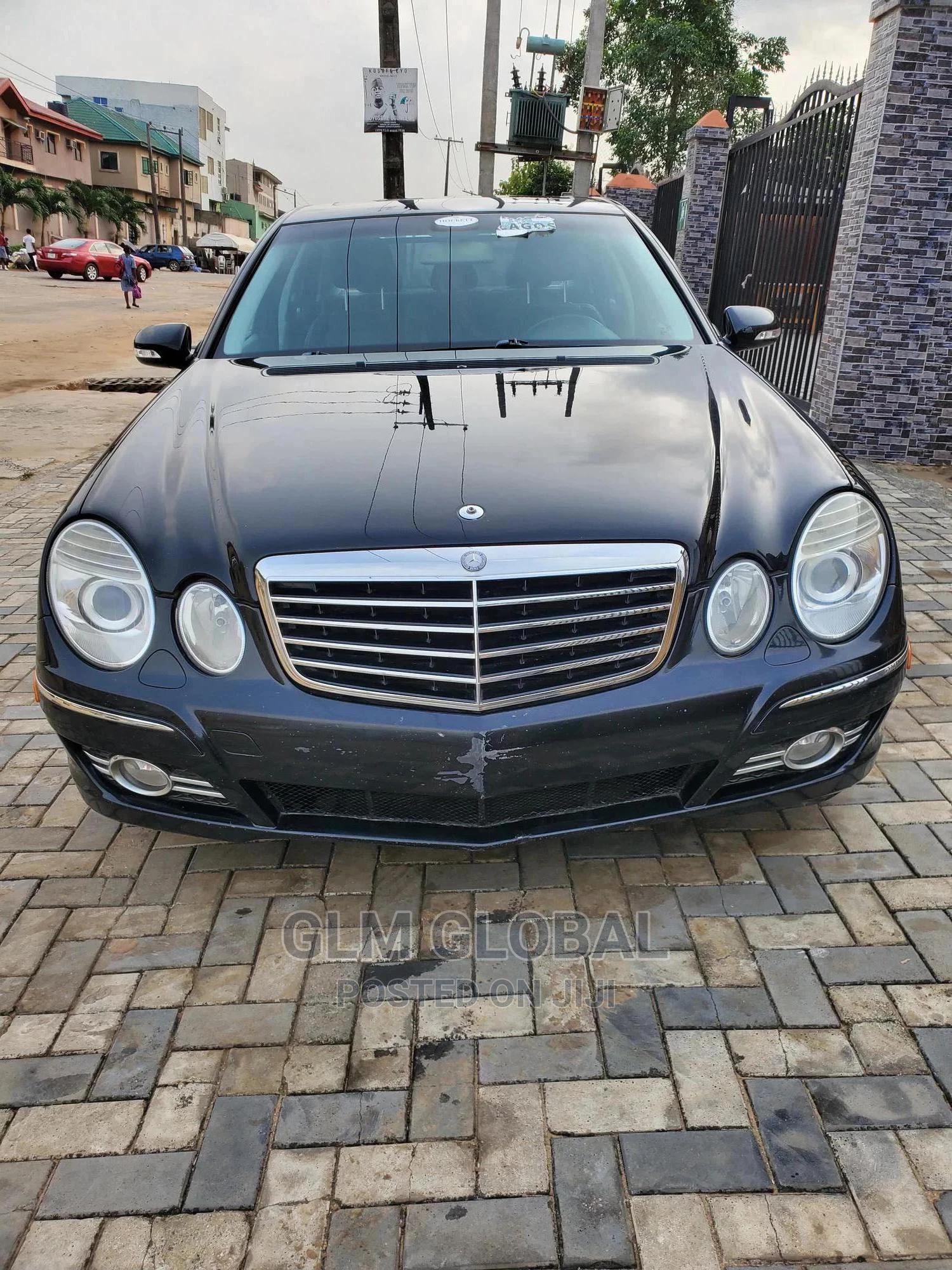 Mercedes-Benz E350 2008 Black