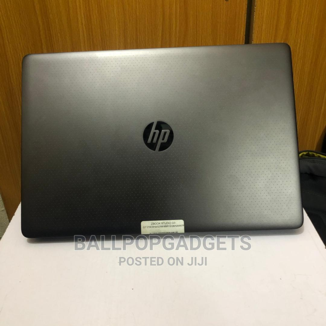 Laptop HP ZBook 15 G3 16GB Intel Core I7 SSD 512GB | Laptops & Computers for sale in Ikeja, Lagos State, Nigeria