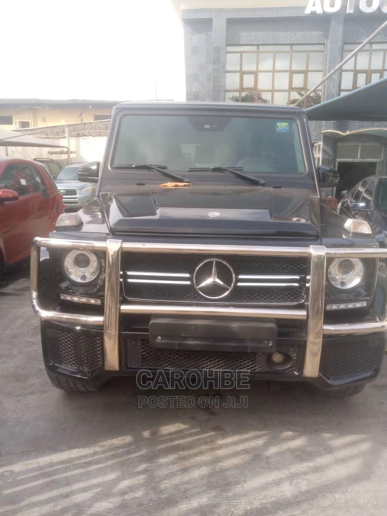 Mercedes-Benz G-Class 2014 Black   Cars for sale in Surulere, Lagos State, Nigeria