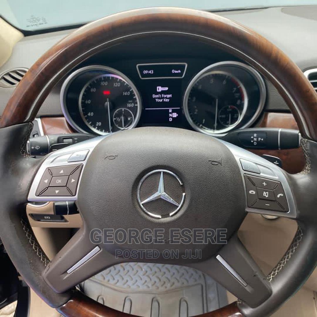 Mercedes-Benz M Class 2012 Black   Cars for sale in Ogudu, Lagos State, Nigeria