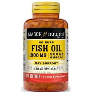 Mason Omega-3 Fish Oil 1000mg X120softgels | Vitamins & Supplements for sale in Lagos State, Alimosho