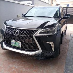 Lexus LX 2015 570 Base Black | Cars for sale in Lagos State, Surulere