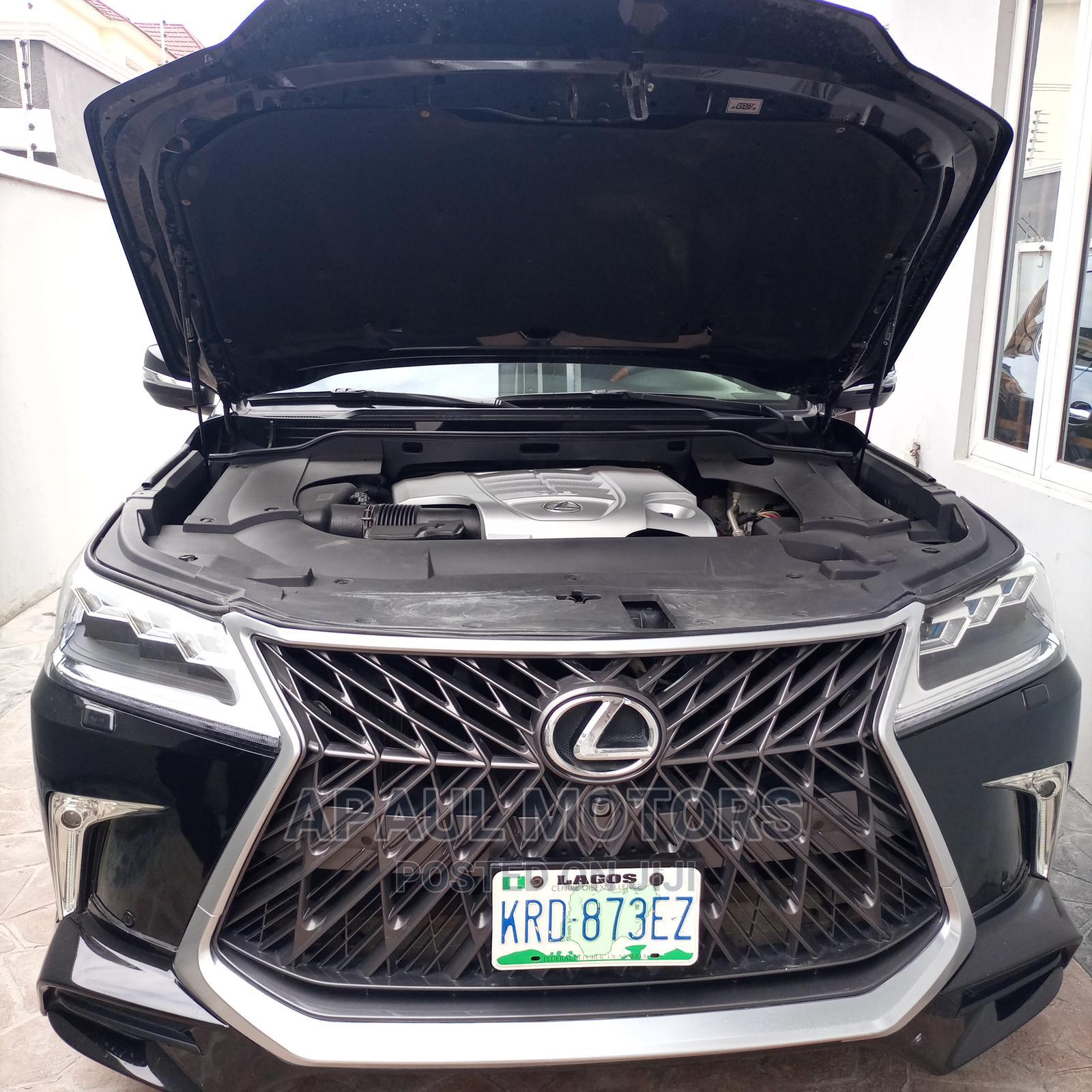 Lexus LX 2015 570 Base Black | Cars for sale in Surulere, Lagos State, Nigeria