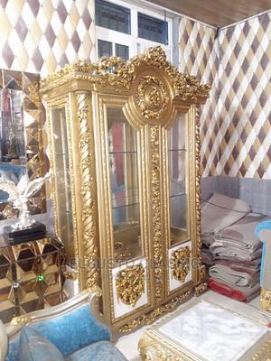 Luxurious Golden Cabinet/Bar   Furniture for sale in Lagos State, Ajah