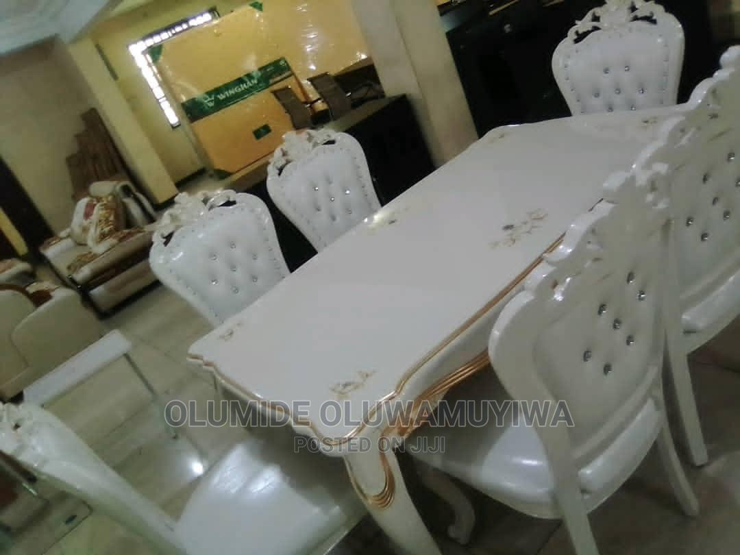 Archive: Royal Dinning Set Of Table And Chairs(White) Ace