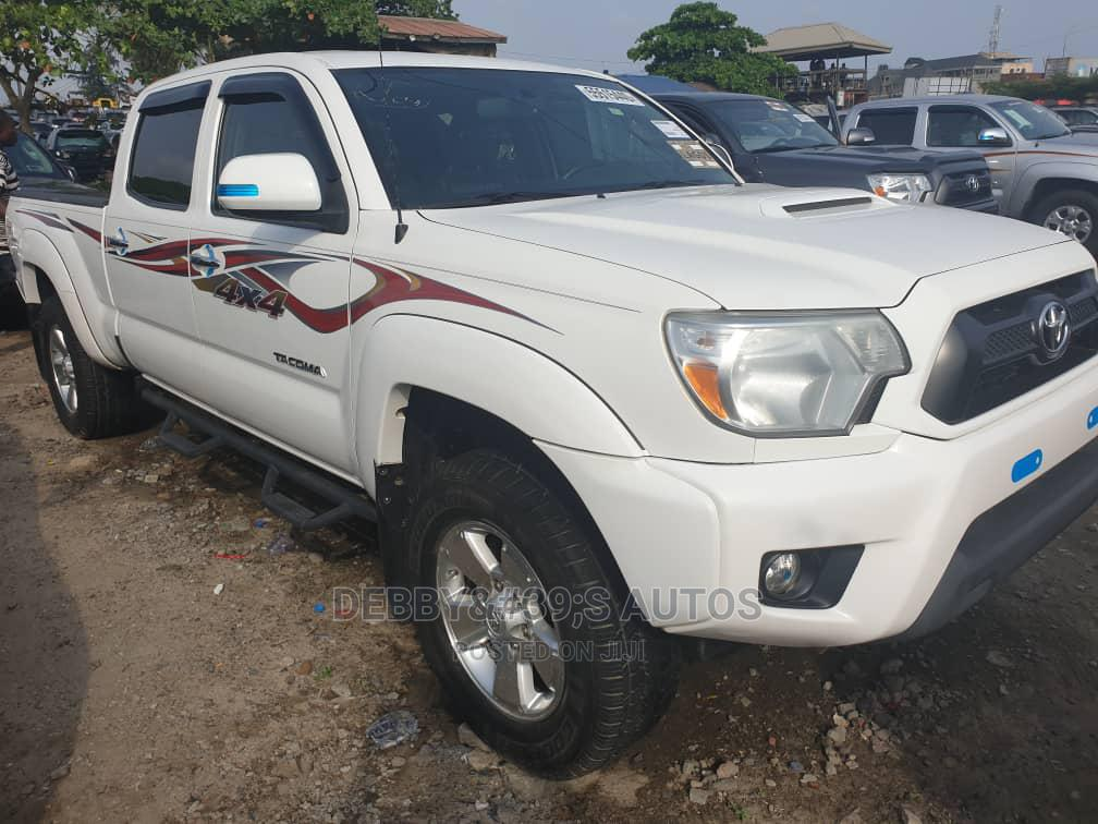Toyota Tacoma 2013 White | Cars for sale in Apapa, Lagos State, Nigeria