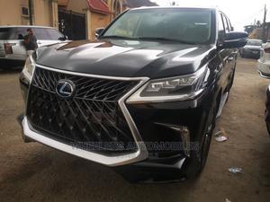 Lexus LX 2017 570 Base Black | Cars for sale in Lagos State, Amuwo-Odofin