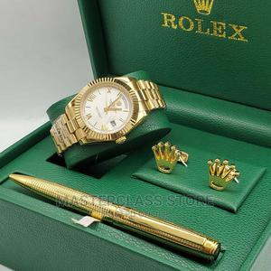 Rolex Set Timepiece CUFFLINKS, PEN   Watches for sale in Lagos State, Lagos Island (Eko)