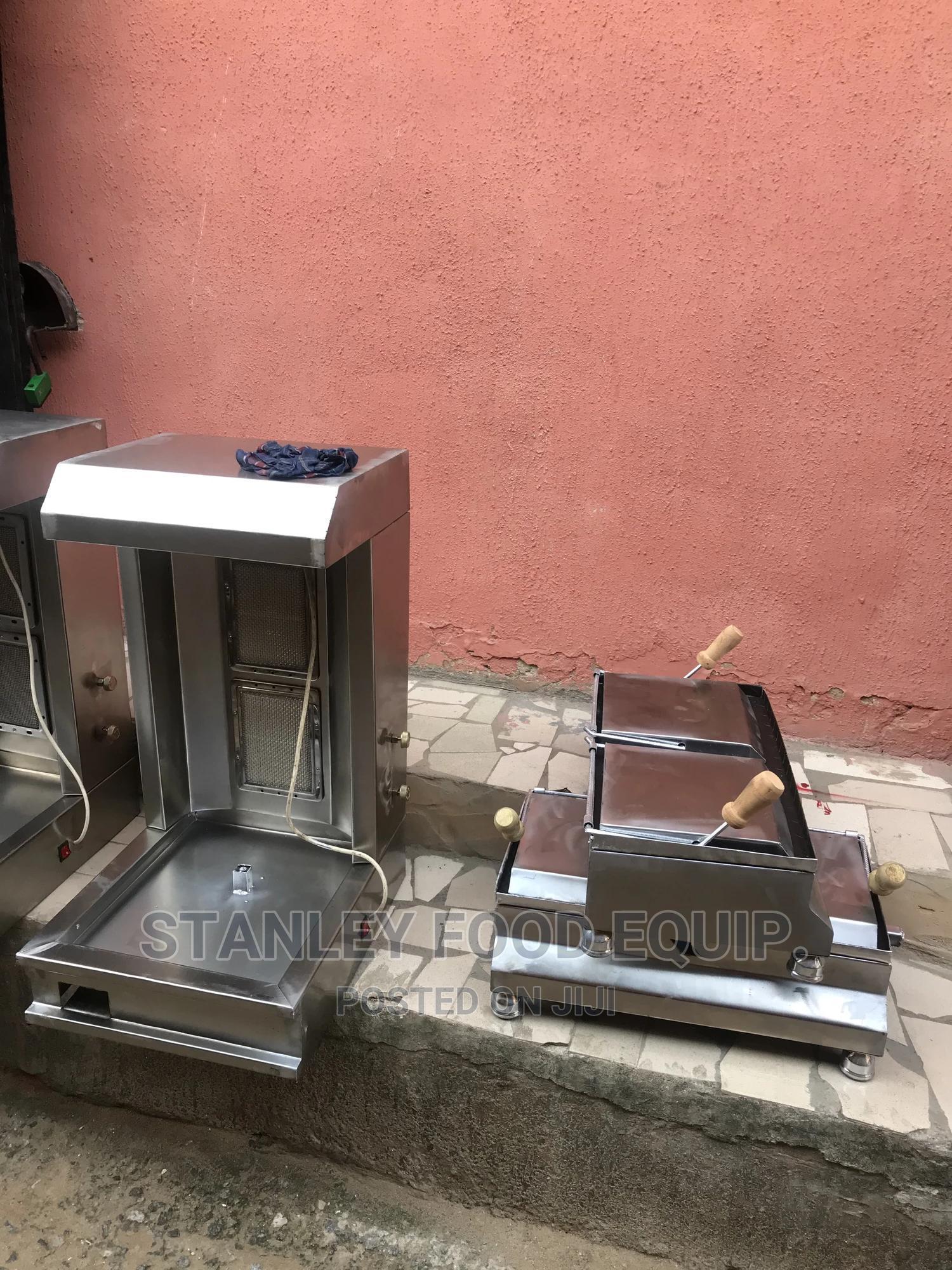 Shawarma Machine With Toaster Grill