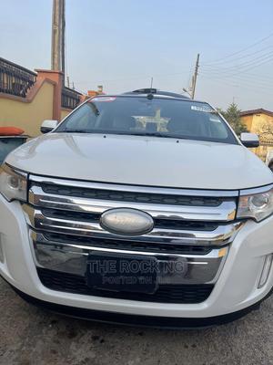Ford Edge 2013 White | Cars for sale in Lagos State, Ifako-Ijaiye