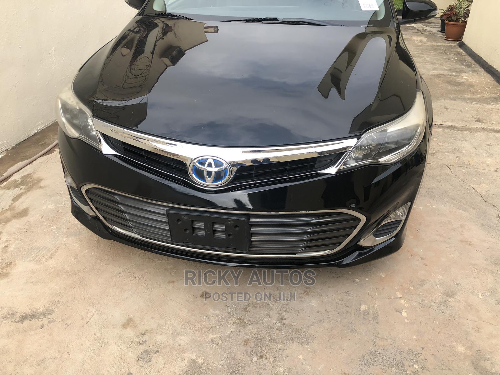 Toyota Avalon 2013 Black