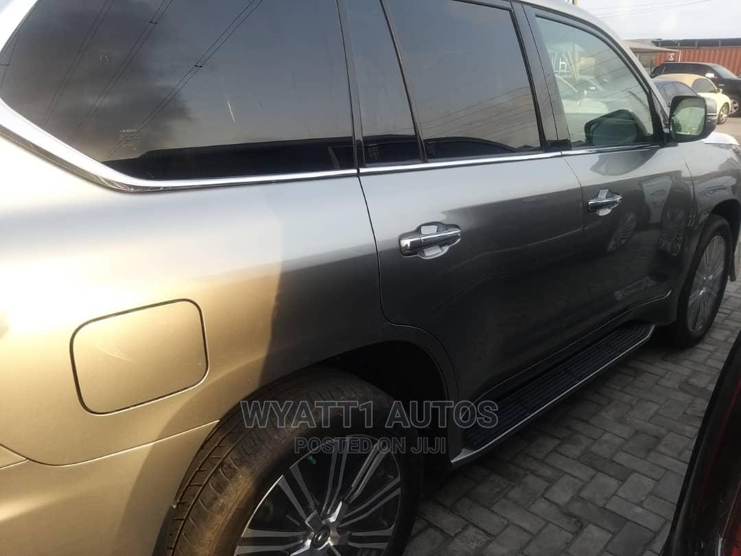 New Lexus LX 2020 570 Three-Row Gold | Cars for sale in Lekki, Lagos State, Nigeria