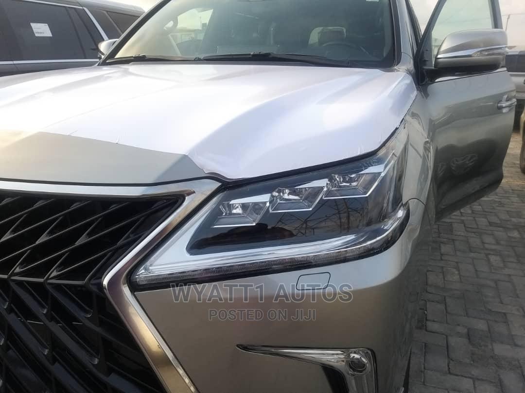 New Lexus LX 2020 570 Three-Row Gold
