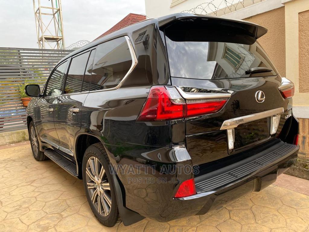Lexus LX 2017 570 Base Black | Cars for sale in Asokoro, Abuja (FCT) State, Nigeria