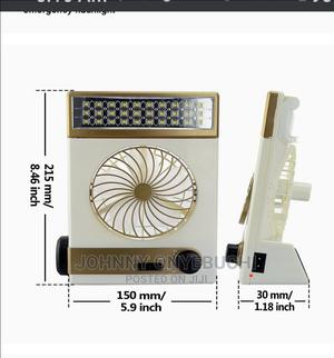 Solar Mini Light Fan Rechargeable | Home Appliances for sale in Lagos State, Apapa