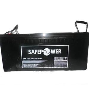 Safepower Sealed Deep Cycle Inverter Battery 200ah 12v | Solar Energy for sale in Lagos State, Ojo