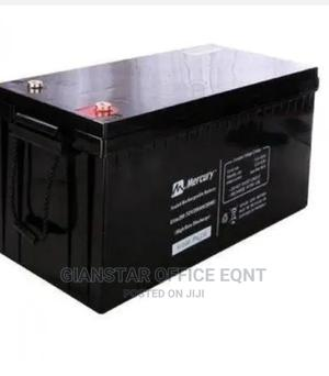 Mercury 12V 200AH Deep Cycle Inverter Battery   Solar Energy for sale in Lagos State, Ojo