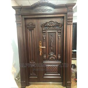 4ft by 8ft Copper Security Door | Doors for sale in Lagos State, Orile