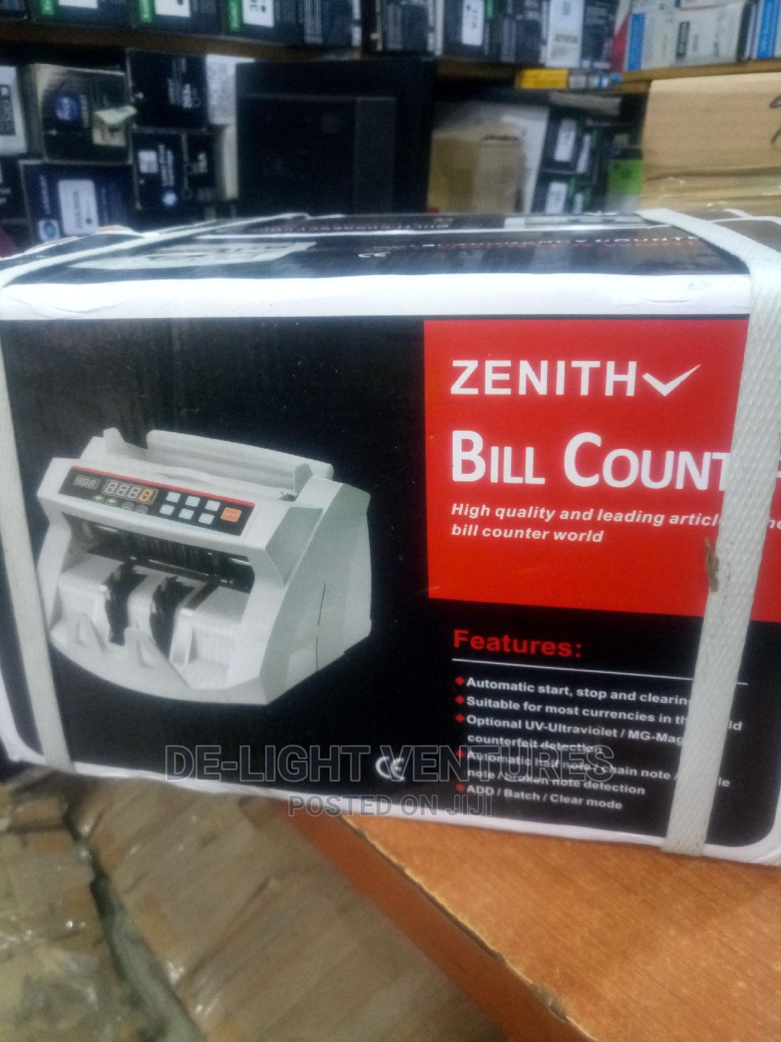 Archive: Zenith Bill Counting Machine