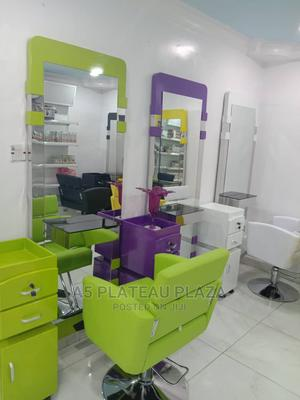 Salon Chairs and Mirror   Salon Equipment for sale in Lagos State, Ojo
