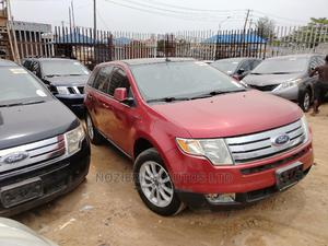Ford Edge 2007 SE 4dr FWD (3.5L 6cyl 6A) Red | Cars for sale in Lagos State, Isolo