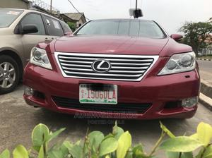 Lexus LS 2010 460 Red | Cars for sale in Lagos State, Ikeja