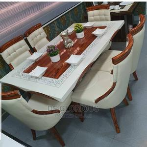 Royal White Dinning by 6 | Furniture for sale in Lagos State, Ajah