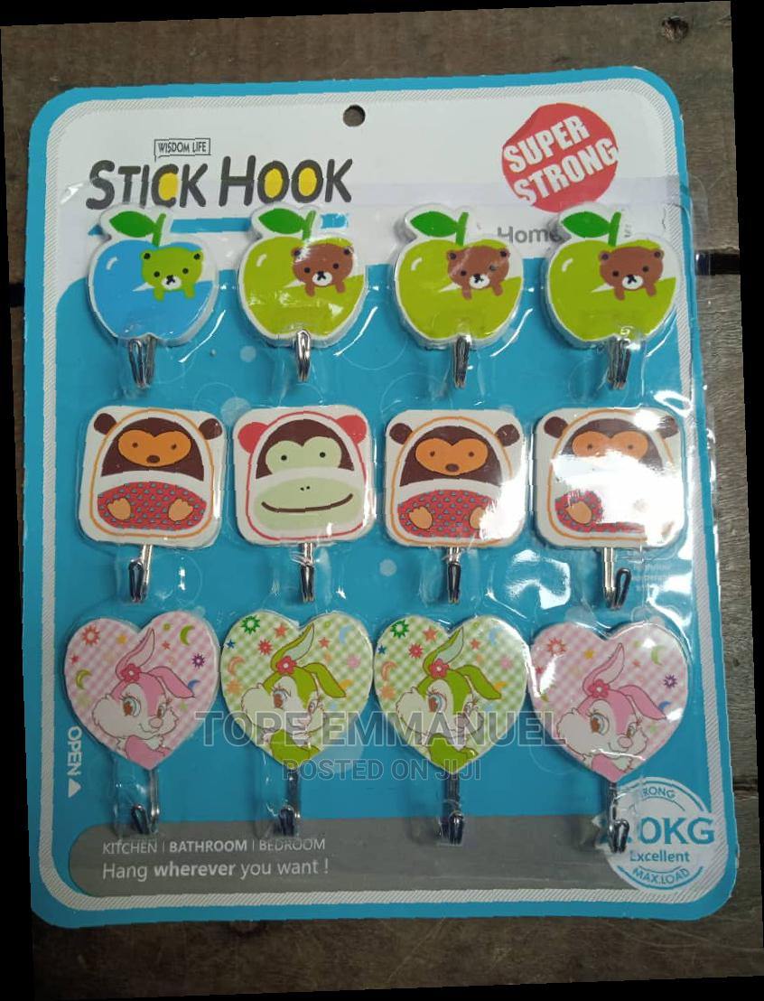 Wall Stickers Hanger For Bathroom And Kitchen