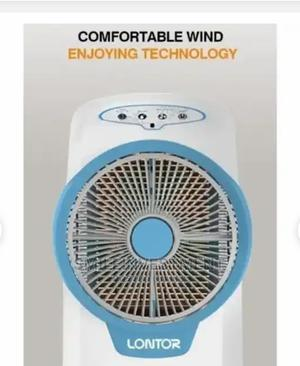 Rechargeable Air Cooler Water Fan With Remote Control | Home Appliances for sale in Lagos State, Lagos Island (Eko)