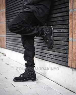 "Nike Air Jordan 4 ""Black Cat"" | Shoes for sale in Lagos State, Lagos Island (Eko)"