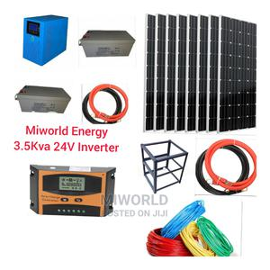 3.5kva 24V Pure Sine Wave Solar Inverter Installation | Solar Energy for sale in Lagos State, Lekki
