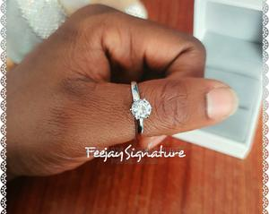 Sterling Silver Proposal/Engagement Ring   Wedding Wear & Accessories for sale in Oyo State, Ibadan
