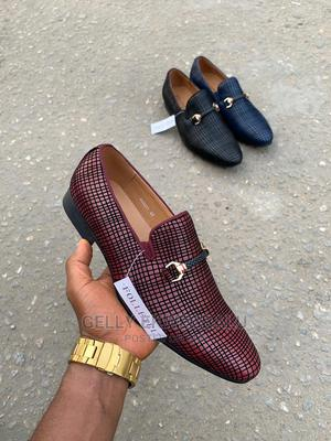 Folletel Wine Dress Shoes/Loafers for Men   Shoes for sale in Lagos State, Apapa