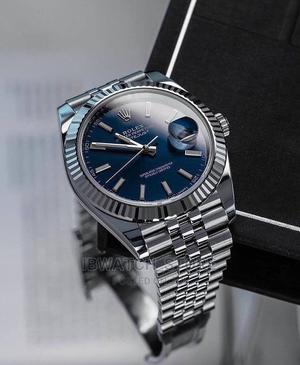 Original Silver Rolex Blue Dial | Watches for sale in Lagos State, Lagos Island (Eko)