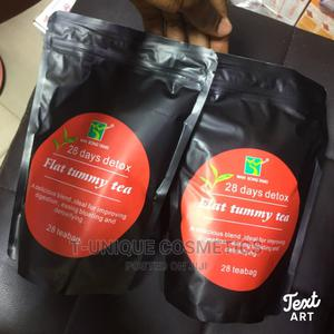 28 Days Detox And Flat Tummy Tea | Tummy Cleansing Tea | Vitamins & Supplements for sale in Lagos State, Ikorodu