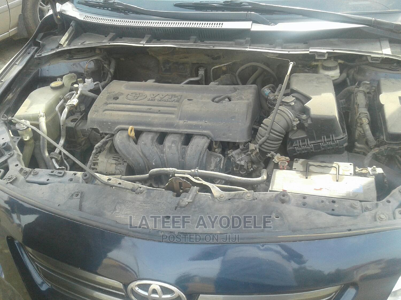 Archive: Toyota Corolla 2008 1.6 VVT-i Blue