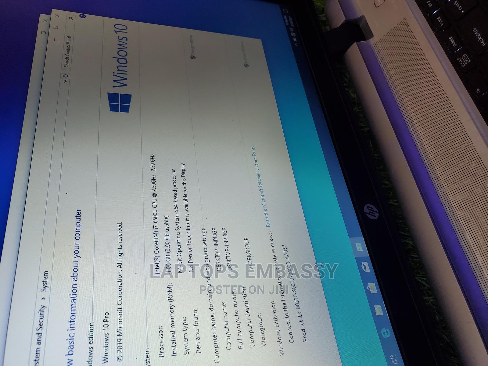 Archive: Laptop HP ProBook 470 G3 8GB Intel Core I7 HDD 500GB