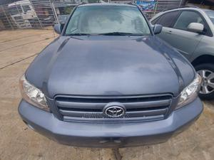 Toyota Highlander 2004 Limited V6 FWD Gray   Cars for sale in Rivers State, Port-Harcourt