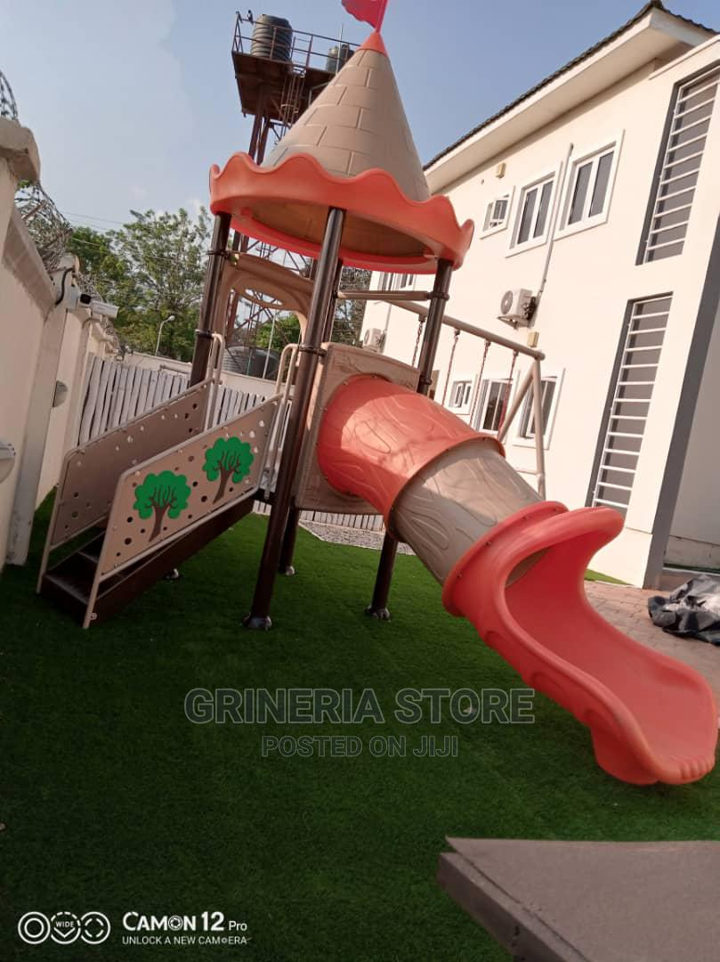 Outdoor Tunnel Playhouse With Swing