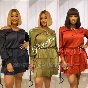 Elegant Classic Trendy Female Quality Short Gown | Clothing for sale in Lagos State, Ikeja
