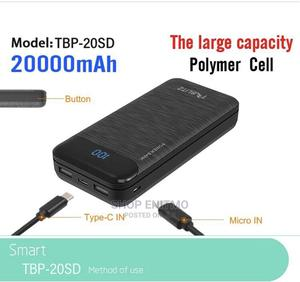20000mah Digital Powerbank With Type C Port | Accessories for Mobile Phones & Tablets for sale in Lagos State, Surulere