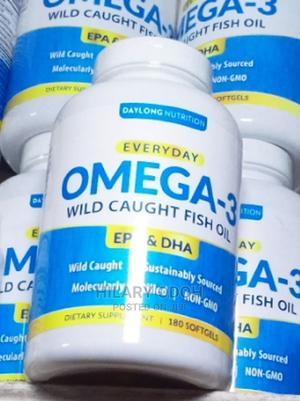Omega 3 Wild Caught Fish Oil 180sofgel   Vitamins & Supplements for sale in Lagos State, Ojo